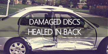 Testimony- Damaged Discs Healed in Back